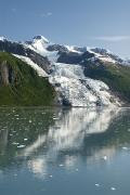 Alaska Lake Prints - Vasser Glacier Print by Gloria & Richard Maschmeyer