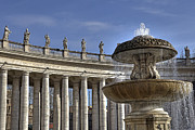 Basilica Prints - Vatican - St. Peters Square Print by Joana Kruse