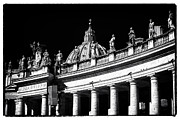 Vatican City Framed Prints - Vatican Statues Framed Print by John Rizzuto