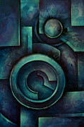 Rectangles Paintings - Vault by Michael Lang