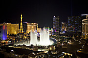 Belagio Framed Prints - Vegas Baby Framed Print by Jonas Wingfield