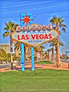 Barry R Jones Jr Digital Art - Vegas by Barry R Jones Jr