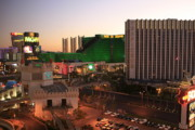 Tropicana Las Vegas Prints - Vegas Dawn Print by Christopher Kirby
