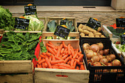 Price Prints - Vegetable Crates Print by Alan Fishleder
