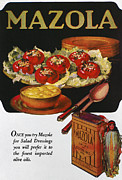 Salad Oil Prints - Vegetable Oil Ad, 1920 Print by Granger