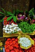 Vegetables In Florence Print by Harry Spitz