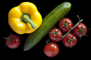 Goods Prints - Veggie Composition Print by Heiko Koehrer-Wagner