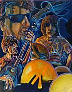 Rock And Roll Painting Originals - Velvet Underground Motion by Jeffrey Carnal