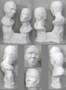 Aged Sculptures - Venerable Age 3210 by Shirley Vilutis