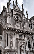 Byzantine Digital Art Metal Prints - Venetian Architecture IV Metal Print by Ellen Lacey