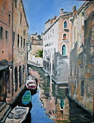 Gondolier Originals - Venetian Blue by Jami Burns