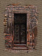Elena Yakubovich Metal Prints - Venetian Door 02 Elena Yakubovich Metal Print by Elena Yakubovich
