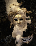 Headdress Photos - Venetian Face Mask B by Heiko Koehrer-Wagner