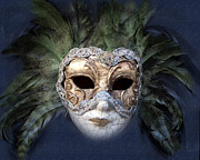 Exceptional Framed Prints - Venetian Face Mask Serie A Framed Print by Heiko Koehrer-Wagner