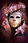 Masquerade Prints - Venetian Mask Print by Traveler Scout