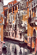 Venetian Serenity Print by Greg Sharpe