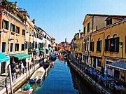 Italian Digital Art - Venetian View by Bill Cannon