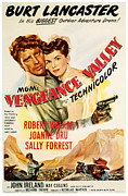 Postv Photos - Vengeance Valley, Burt Lancaster by Everett