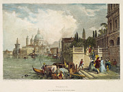1833 Photo Framed Prints - Venice, 1833 Framed Print by Granger