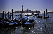 Gondolier Prints - Venice at Dusk Print by Madeline Ellis