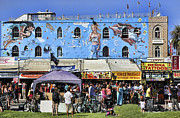 """blues Art"" Framed Prints - Venice Beach V Framed Print by Chuck Kuhn"