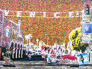 Venice Mixed Media Originals - Venice California by Jerome Stumphauzer