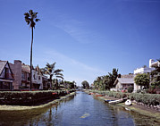 Los Angeles Photo Framed Prints - Venice, Californias, Canals- Intended Framed Print by Everett