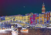 Special Effects Originals - Venice Canal by Charles  Ridgway