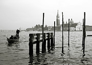 Canal Grande Prints - Venice Canal Grande II Print by Nina Papiorek