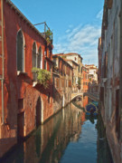 Venecia Photos - Venice canaletto mirror by Heiko Koehrer-Wagner