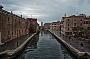 Uros Zunic Metal Prints - Venice canals Metal Print by Uros Zunic