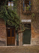 Old Street Paintings - Venice doorways and windows by Cliff Wassmann