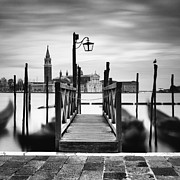 Venice Travel Framed Prints - Venice Gondolas III Framed Print by Nina Papiorek
