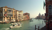 Accademia Photos - Venice Grand Canal by Iain MacVinish