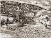 Blow Prints - VENICE: HARBOR, c1500 Print by Granger