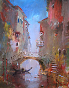 Venezia Paintings - Venice Impression by Ylli Haruni