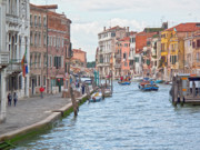  World Cities Prints - Venice in pastel  Print by Heiko Koehrer-Wagner