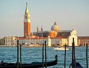 Gregory Dyer - Venice Italy - San Giorgio Maggiore island and Gondolas