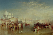 Rowing Boats Prints - Venice Print by Joseph Mallord William Turner