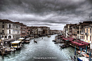 Uros Zunic Metal Prints - Venice landscape hdr Metal Print by Uros Zunic
