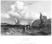 Venice: Lido, 1833 Print by Granger