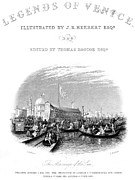 Titlepage Prints - Venice: Marriage Of The Sea Print by Granger