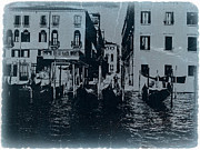 Gondola Digital Art Prints - Venice Print by Irina  March