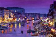 Nights Originals - Venice Nights by David Lloyd Glover