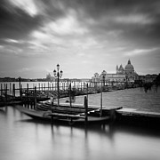 Canal Grande Prints - Venice Print by Nina Papiorek