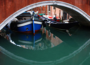 Venice Reflections 2 Print by Bob Christopher