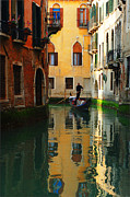 Thelightscene Prints - Venice Reflections Print by Bob Christopher
