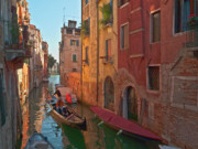 Grande Canal Framed Prints - Venice sentimental journey Framed Print by Heiko Koehrer-Wagner