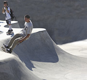 Skate Photos - Venice Skate Boarding by Chuck Kuhn