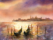 Theresa Evans - Venice Sunset